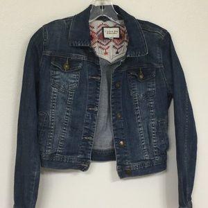 I Love 81 Denim Jacket